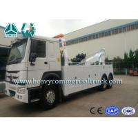 Buy cheap SINOTRUK 20 Tons Heavy Duty Tow Truck Wrecker , Road Recovery Vehicle from Wholesalers