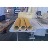 Yellow 600 Degree High Temp Felt PBO Kevlar 5mm Used Inital Table