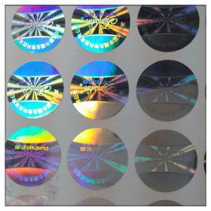 Laser anti-fake hologram  label made in guangzhou , Laser anti-fake label in guangzhou