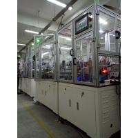 Buy cheap Energy Efficiency Electric Motor Assembly Line , Flexible Assembly Systems 50 HZ from Wholesalers