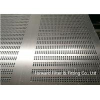 Buy cheap SS304 Stainless Steel Punching Hole Punching Plate Hole Plate Galvanized Punching Plate from Wholesalers