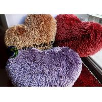 Buy cheap Lovely-designed Purple Chenille Cushion, Household Heart-shaped Pet Bed / Pad from Wholesalers