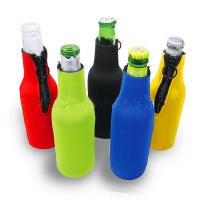 Buy cheap Cans Use and  Insulated Type 330ml Neoprene wine cooler size is 19cm*6.3cm, SBR material. from Wholesalers