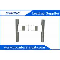 Quality Supermarket Swing Barrier Gate / Traffic Barrier GateWith Barcode Scanner wholesale