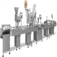 Buy cheap Tablets / Capsules / Pills Automatic Packing Line Capping Labelling Packing Machine from wholesalers
