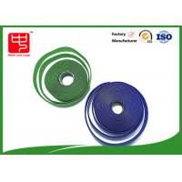 Buy cheap Custom sew on male and female Hook and Loop Tape 25 m per roll from Wholesalers