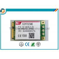 Buy cheap PCIE Wireless 4G LTE Module From SIMCOM SIM7230E With MDM9225 Chipset 3.3V Small Size from Wholesalers