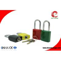 Buy cheap High Quality  Colorful Aluminium alloy Padlock Stable Paint Coating Surface from wholesalers