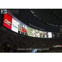 Buy cheap 60Hz Waterproof SMD3535 Stadium LED Display , P10 Outdoor LED Screen 1 / 2 Scan from Wholesalers