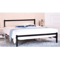 China Easy Assembly Metal Frame Bed / Modern Bedroom Furniture Steel Material on sale