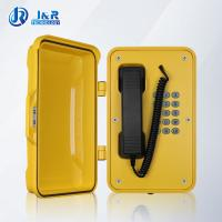 Buy cheap VOIP/SIP Hazardous Area Telephones , Heavy Duty Weatherproof Telephone with black curly cord from Wholesalers