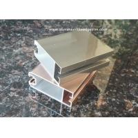 Buy cheap Aluminium Sliding Door Frame Profile With Electrophoresis Surface treatment from wholesalers