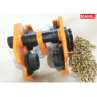 Buy cheap TG Lifting Push Travel Trolley Geared Beam Trolley Capacity: 10 Tons from Wholesalers