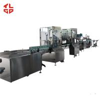 Quality Stainless Steel Aerosol Spray Paint Filling Machine For Sanitizer Disinfector Spray wholesale