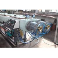 Buy cheap Fully Automatic PP PE Twin Pipe Making Machine / PVC Pipe Extrusion Line from wholesalers