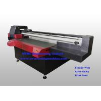 Buy cheap Digital Uv Flatbed Printing Machine , Wide Format Flatbed Printer High Speed from Wholesalers