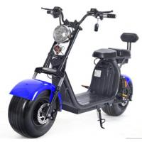 China 1500W Brushless Motor Electric Harley Scooter 60v 12ah Double Lithium Battery Choice on sale