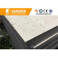 Buy cheap Flat Prefab House Hotel Sandwich Panel Construction Materials Grey from wholesalers