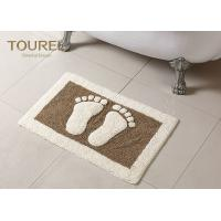 Bulge Big Feet  Icon Many Hotel Bath Mats Homor Design With Polyester Coral