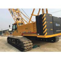 Buy cheap 85 ton Jib 12t Hydraulic Crawler Crane , mobile hydraulic crane XGC85 from wholesalers