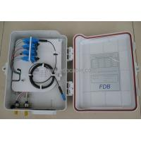 Buy cheap 16 Core SC Outdoor Optical Splitter Distribution Box For Telecom FDB0216B from Wholesalers