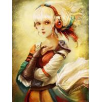 China wall clock girl picture home decor wall decor on sale