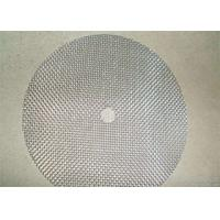 Buy cheap AISI304/316 Round Mesh Filter Disc , Washable Aluminum Air Filters from Wholesalers