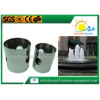"Buy cheap DN25 1"" Stainless Steel Fountain Nozzles Cup Shape For Indoors / Outdoors from Wholesalers"