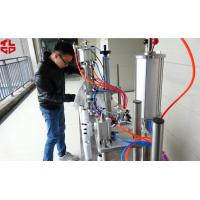 Buy cheap Semi Automatic 3 in 1 Aerosol Filling Machine for Insecticide Pesticide Sprays Pneumatic Drive from Wholesalers