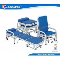 Buy cheap Two Function Foldable Accompanier Hospital Transfusion / blood extraction chair from Wholesalers