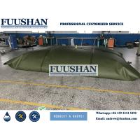 Buy cheap Fuushan Hot-sale Collapsible PVC Water Tank 200L 5000L 600000L Inflatable Bladder, Irrigation Water Bladder from Wholesalers
