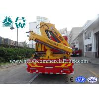 Four Door Cabin  Fire Fighting Truck with crane15 Cbm  - 20 Cbm 336 Hp