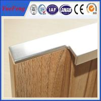Buy cheap hot selling aluminum cabinet edge handle profile in china from Wholesalers