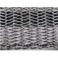 Buy cheap Stainless Steel 304 Wire Conveyor Belts Chain Drive Herringbone Type from wholesalers