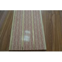 China Fire Resistant PVC Ceiling Panels Bathroom Double Groove For Printing on sale