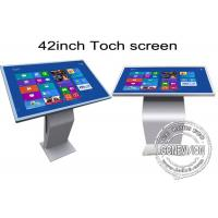 Buy cheap 42 inch Multi Function All In One IR Touch Screen Kiosk Floor Stand Metal Case from Wholesalers