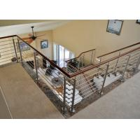 Buy cheap Indoor stainless steel rod railing stainless steel balustrade from wholesalers