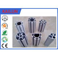 Buy cheap 4040 Anodized T Shaped Aluminum Extrusions , T - Slotted Extruded Aluminum Rails from Wholesalers