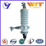 Buy cheap 60KV High Voltage Porcelain Surge Arrester for Electrical Transformer from Wholesalers