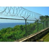Buy cheap 6 Foot 9 Gauge Chain Link Fence Panels Zinc Coated With Stainless Steel from wholesalers