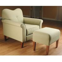 Buy cheap Heart Shape Back Cushion Leisure Chair Ottoman For Living Room from wholesalers