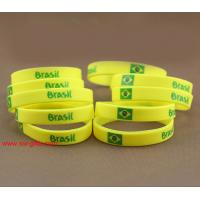 Buy cheap Brazil National Team Sport Bracelet Sports wristbands Olympic Games Sport Silicone bracele from wholesalers