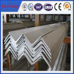 Buy cheap 6063 v slot aluminum profile / l shaped aluminum extrusion manufacturer / aluminum l angle from Wholesalers