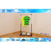 Buy cheap Home Use Indoor Laundry Drying Rack / Floor Standing Single-bar Clothing Dryer Hanger from Wholesalers