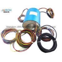 Buy cheap Conductive Through Bore Slip Ring 70mm With 24 Wires Contact Slip Ring Assemblies rotating electrical connector from Wholesalers