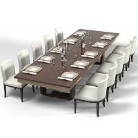 Modern Wood Commercial Restaurant Furniture With Dining Room Chairs High Grade