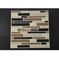 Buy cheap Decorative Mosaic Gel Wall Tiles , 3D Epoxy Resin Metallic Effect Wall Tiles from wholesalers