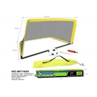Buy cheap 120 CM Foldable Pop Up Soccer Goal Set Children's Play Toys W / Carry Bag Yellow from wholesalers