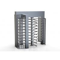 Buy cheap 100 watts / 24V Single direction Security Access Control System Full Height Turnstile from wholesalers