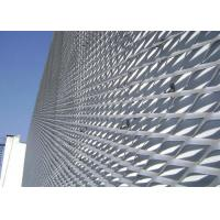Buy cheap Anodized Finish Expanded Metal Mesh , Perforated Aluminium Mesh Lightweight from Wholesalers